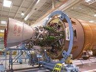 Современный ракетный двигатель РД180