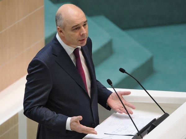 Силуанов поведал опреимуществах отсутствия денежных средств вбюджете
