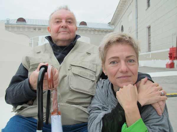 Владимир Успенский и Татьяна Малкина. Фото Н. Деминой