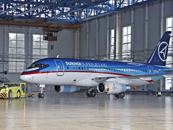 Каждый пятый самолет Sukhoi Superjet нелетает из-за дефектов