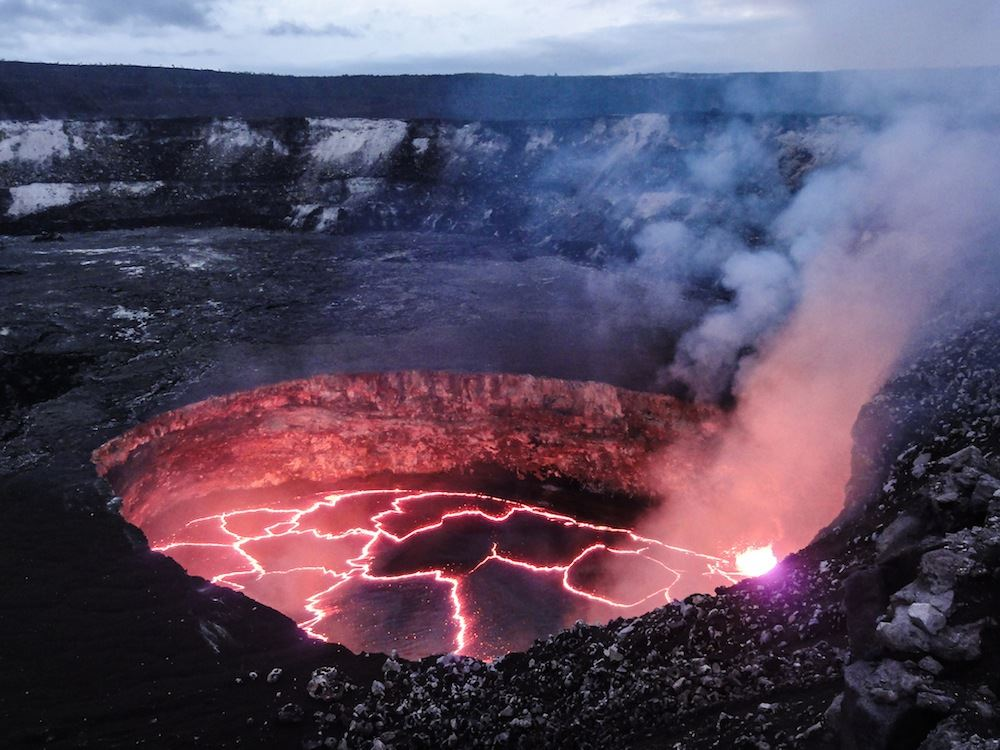 facts and information of mount kilauea