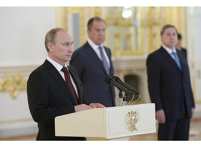 Путин выразил отношение ктезису обисключительности американцев