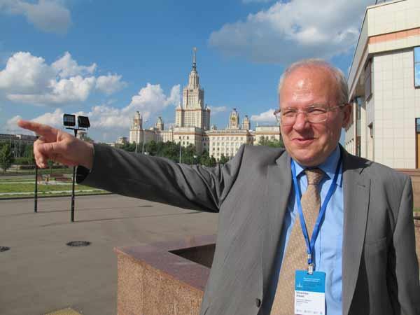 Алексей Хохлов рассказал о новых корпусах МГУ