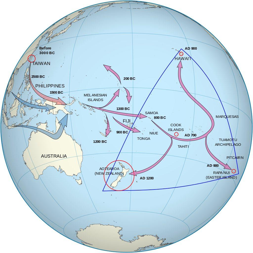 Найдено 600-летнее полинезийское каноэ