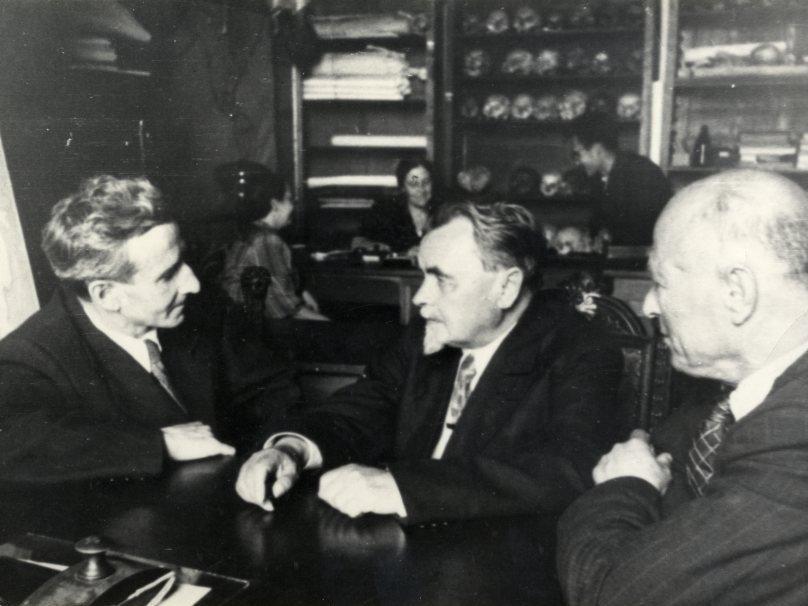 Я.Я. Рогинский, Л.В. Ошанин, М.С. Плисецкий
