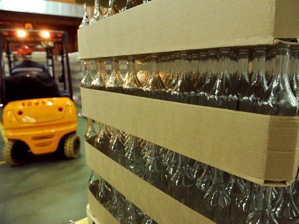 Производство водки в Российской Федерации ссамого начала года выросло на20,5%