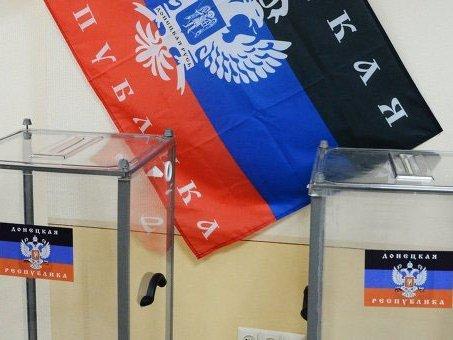 В «ДНР» и«ЛНР» сообщили опереносе «выборов»