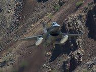 Истребитель F-16D