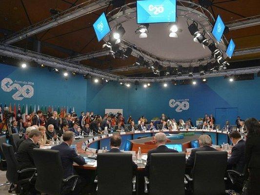 ВГамбурге стартовал саммит «Большой двадцатки»