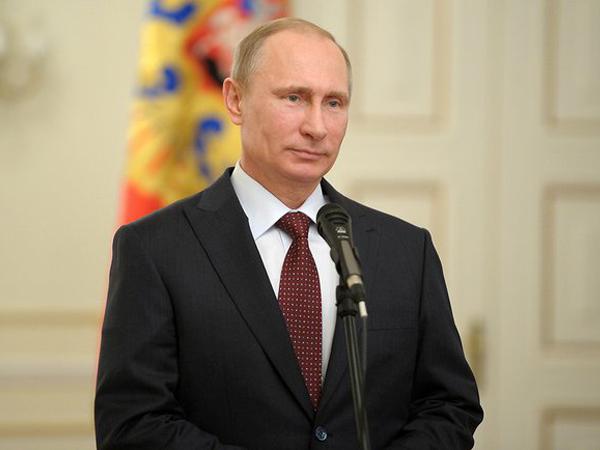 Жители России стали больше любить В. Путина