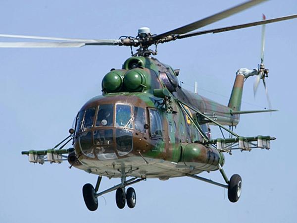 ВХабаровске вовремя учебного полёта разбился вертолёт Ми-8