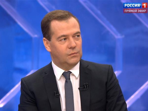 Медведев подведет результаты года винтервью телеканалам 30ноября