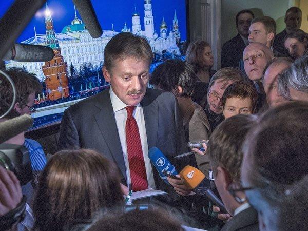 Песков: данные осборе биоматериала граждан России Путин получает отспецслужб