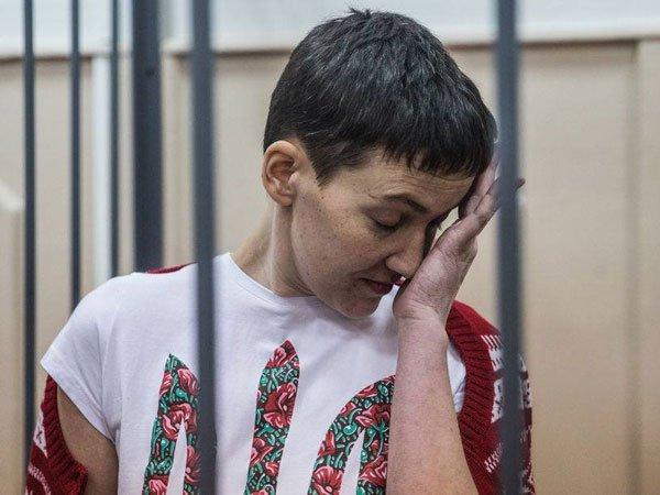 Надежда Савченко решила повлиять навласть ивозобновила сухую голодовку