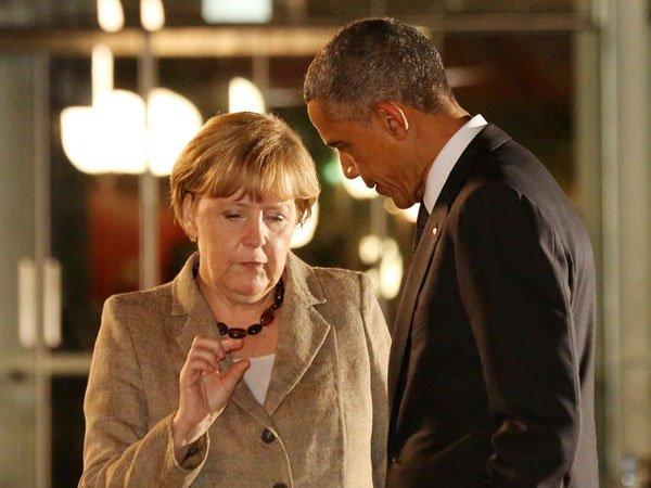 Обама иМеркель выделили значимость торгового пакта США-ЕС