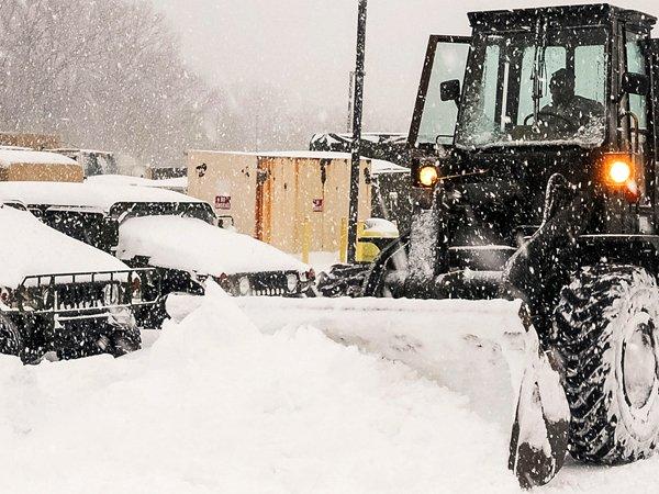 ВЦентральной Российской Федерации вближайшие дни ожидаются сильные снегопады