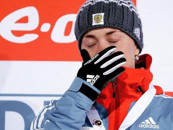 Кузьмина выиграла гонку преследования, Юрлова-Перхт— 12-я