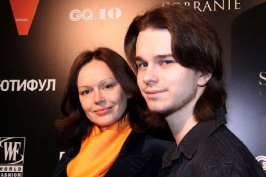 Ирина Безрукова с сыном Андреем Ливановым