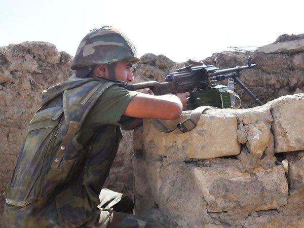 Минобороны Армении сообщило о стрельбе награнице сАзербайджаном
