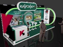 Выставочный стенд «Kaspersky Lab» в Дубае