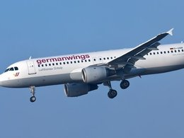 Самолет Airbus A320 авиакомпании Germanwings