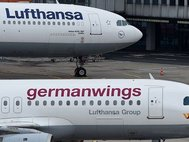 Самолеты Lufthansa и Germanwings