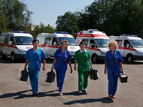Работники уфимской скорой помощи