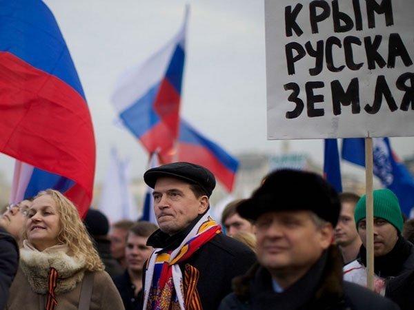 Большинство россиян не согласны с идеей расплатиться за Крым