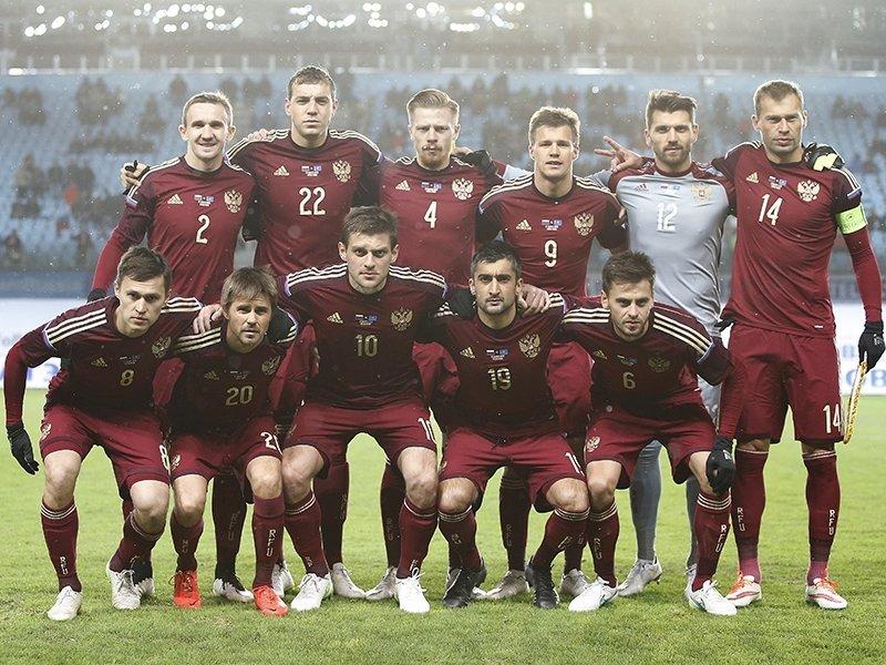 Какие места занимала сборная россии по футболу