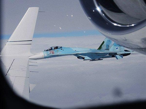 Русский Су-27 повторно нарушил воздушное пространство— Финляндия