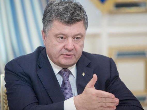 Порошенко продлил санкции против структур четырех русских банков