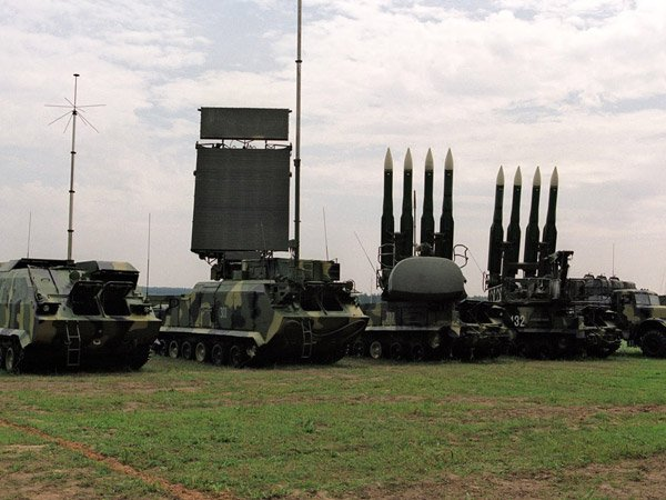 Украина проведет учения сЗРК «Бук М1» около аннексированного Крыма