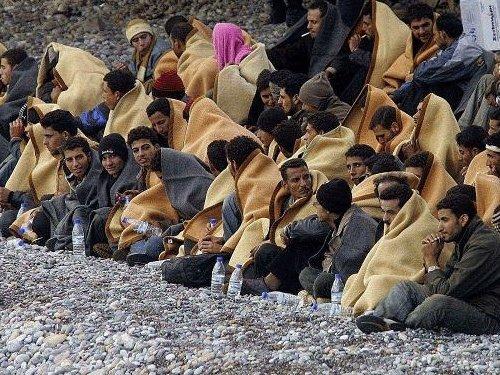 Нелегальные мигранты в Индонезии