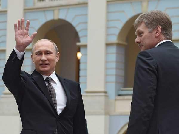 Песков опроверг слухи обобщении Владимира Путина сТрампом