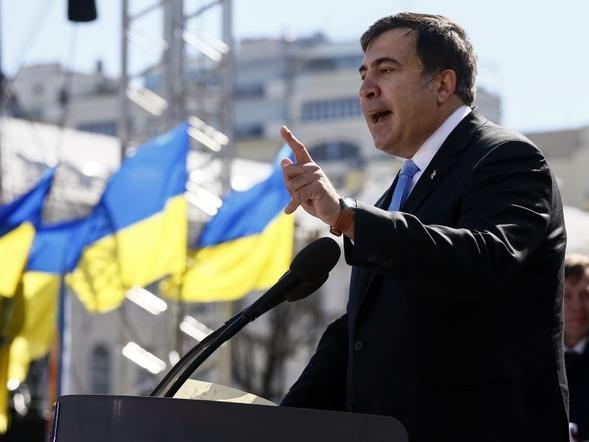 Саакашвили считает, что спасся впроцессе конфликта в 2008г благодаря Украине