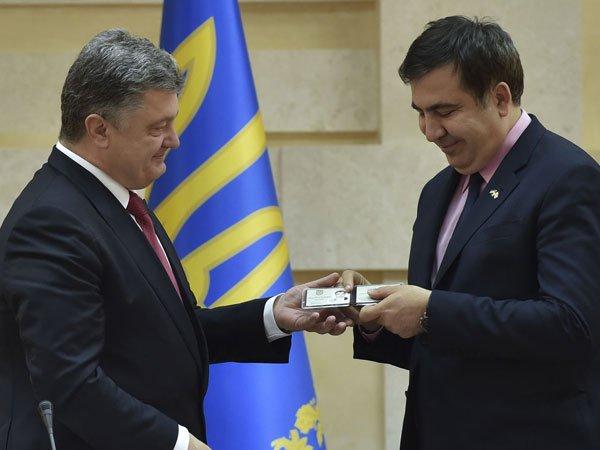 Прекращение «травли» реформаторов и улучшенный Кабмин. Саакашвили выдвинул условия Порошенко