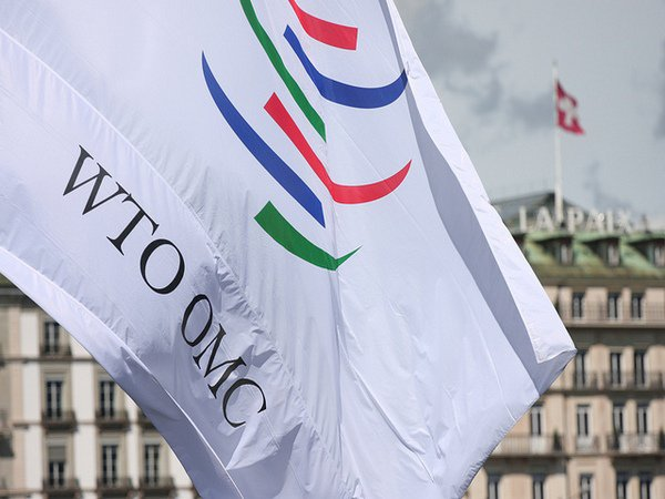 Флаг с эмблемой ВТО