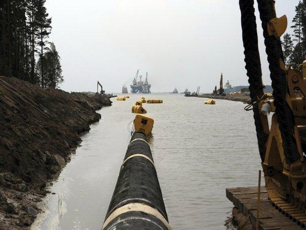 «Газпром» отказался отпланов по«Северному потоку-2»