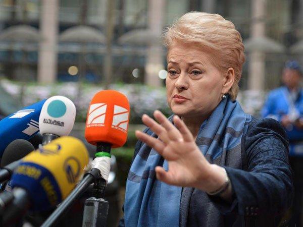 Президент Литвы сообщила о«шредеризации» энергетической политикиЕС