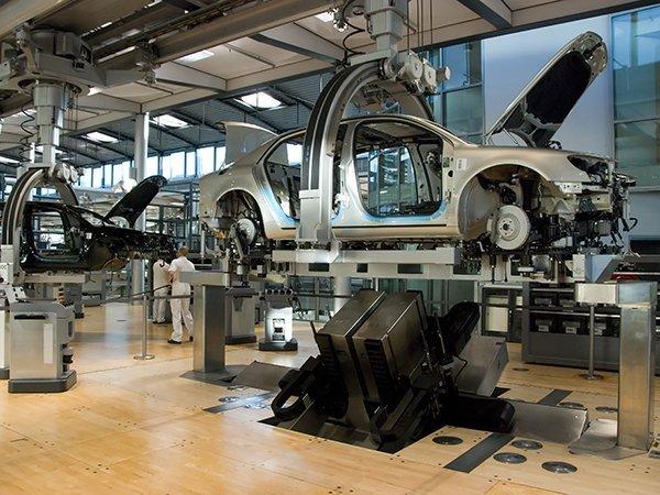 Завод Volkswagen в Дрездене