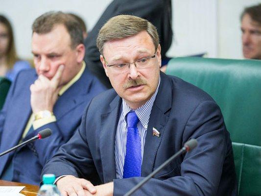 Косачев назвал «агонией политических трупов» высылку дипломатов изсоедененных штатов