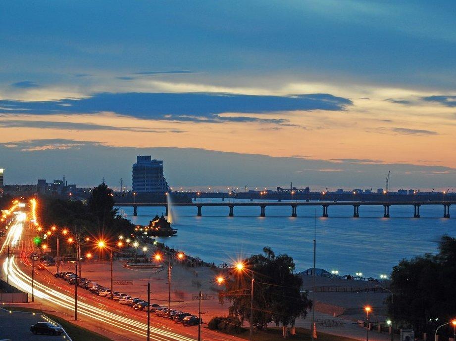 Набережная Днепропетровска http://ltclub.com.ua