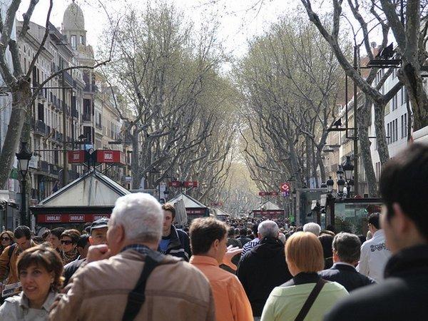 Барселона ограничила поток туристов вгороде