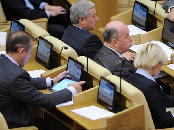 Законодательный проект остоимости голоса избирателя вносится в Государственную думу