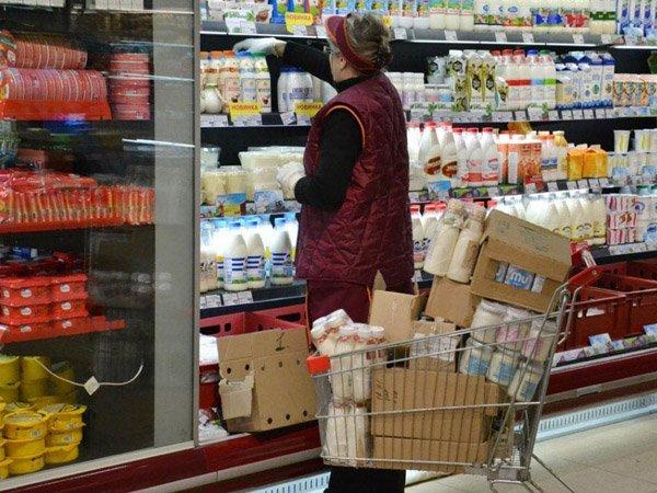 Раскладка товара в супермаркете