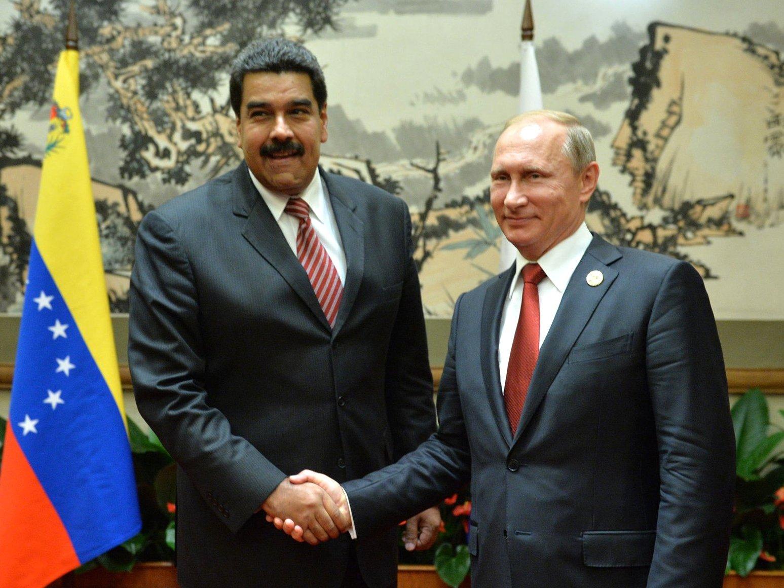 Мадуро намерен вближайшее время встретиться сПутиным