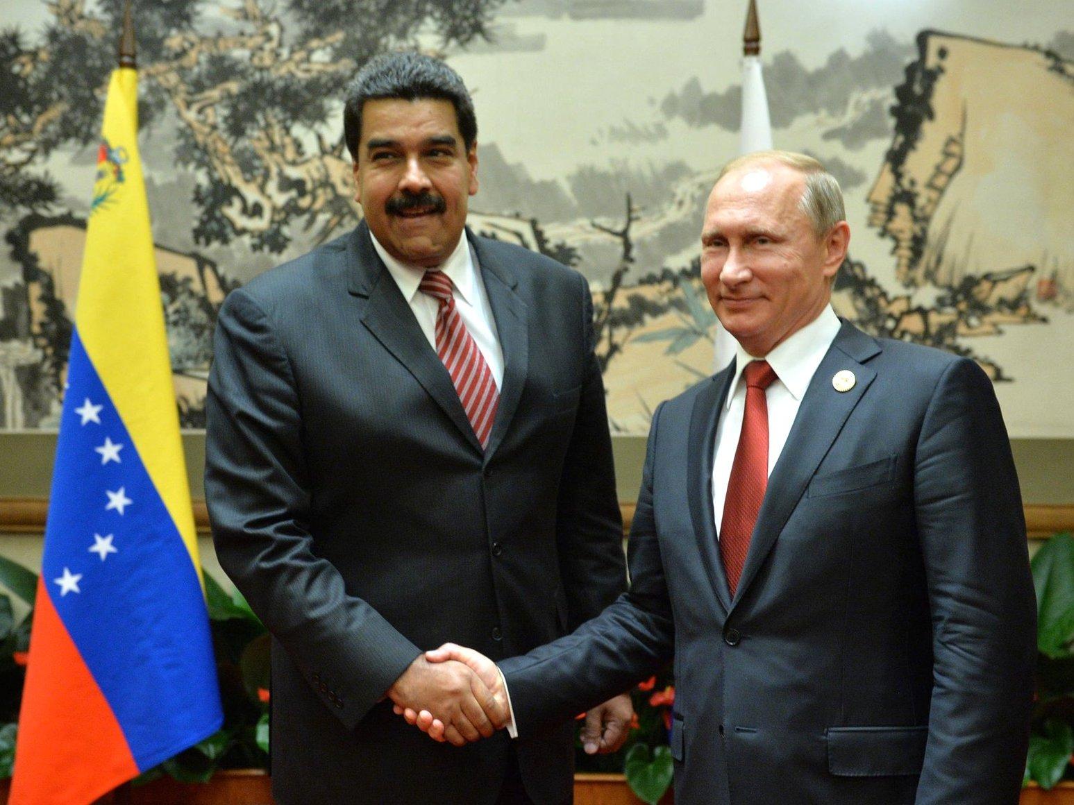 Путин иМадуро обсудили последствия решения ОПЕК одобыче нефти