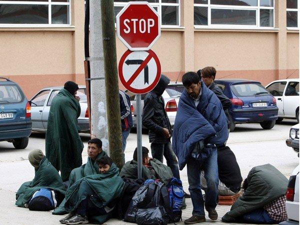 Нелегальные мигранты в ЕС