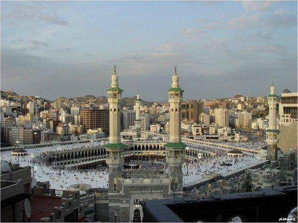 Большая мечеть в Мекке