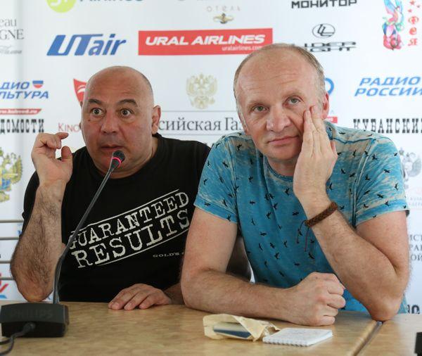Георгий Параджанов и Дмитрий Савельев